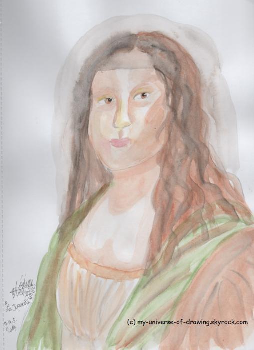 Mona Lisa by AngelRainbow